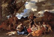 Bacchanal Andrians Nicolas Poussin