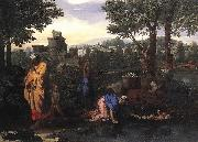 Exposition of Moses Nicolas Poussin