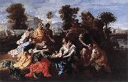 Finding of Moses Nicolas Poussin