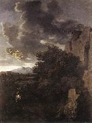 Hagar and the Angel Nicolas Poussin