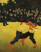 Breton Wrestling Paul Serusier