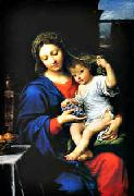 Madonna of the Grapes Pierre Mignard