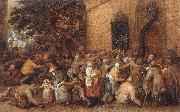 Distribution of Loaves to the Poor e VINCKBOONS, David