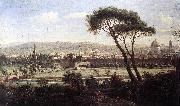 View of Florence from the Via Bolognese WITTEL, Caspar Andriaans van
