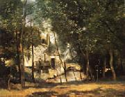 the mill of Saint-Nicolas-les-Arraz camille corot