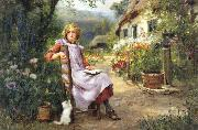 In the Garden Henry John Yeend King