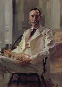 Man with the Cat Cecilia Beaux