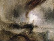 Snow Storm-Steam-Boat off a Harbour-s Mouth J.M.W. Turner