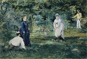 A Game of Croquet Edouard Manet