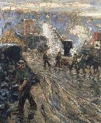 Building the New York Ernest Lawson
