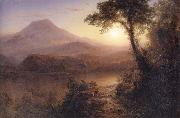 Tropical Scenery Frederic Edwin Church