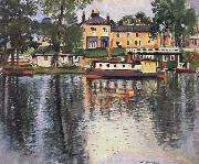 Reflections,Balloch George Leslie Hunter