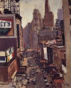 Times Square George Oberteuffer