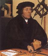 Portrait of Nikolaus Kratzer,Astronomer HOLBEIN, Hans the Younger