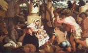 The Adoration of the Shepherds Jacopo Bassano