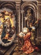 St Luke painting the Virgin Jan Gossaert Mabuse
