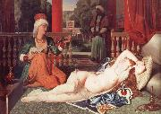 Odalisque with a Slave Jean Auguste Dominique Ingres