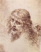 Head and shoulders Christs LEONARDO da Vinci