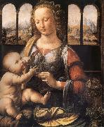 Madonna with the carnation LEONARDO da Vinci