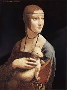 Lady with the ermine LEONARDO da Vinci
