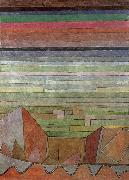 View in the the fertile country Paul Klee