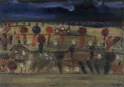 Garden in the Plain II Paul Klee