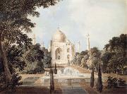 South View of the Taj Mahal at Agra Thomas Daniell