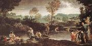 The Fishing Annibale Carracci