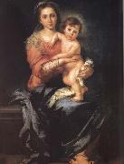 Madonna and Child Bartolome Esteban Murillo
