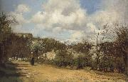 View from Louveciennes Camille Pissaro