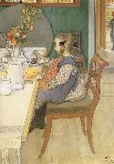 A Late-Riser-s Miserable Breakfast Carl Larsson