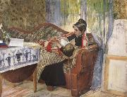 A Mother-s Thoughts Carl Larsson