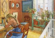 Writing Letters Carl Larsson