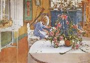 interior with Cactus Carl Larsson