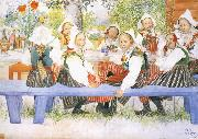 Kersti-s Birthday Carl Larsson