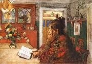 Karin,Reading Carl Larsson