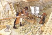 In the Carpenter Shop Carl Larsson