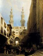 A View in Cairo David Roberts