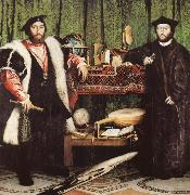 The French Ambassadors HOLBEIN, Hans the Younger