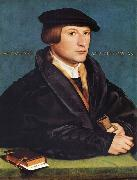 Portrait of a Member of the Wedigh Family HOLBEIN, Hans the Younger