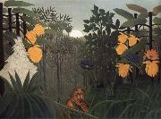Repast of the Lion Henri Rousseau
