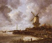 The mill by District by Duurstede Jacob van Ruisdael