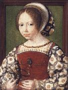 Portrait of a Little Girl Jan Gossaert Mabuse