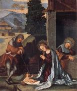 The Nativity Lodovico Mazzolino