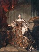 Marie Leczinska, Queen of France Louis Tocque