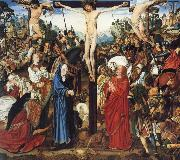 The crucifixion MASTER of the Aix-en-Chapel Altarpiece
