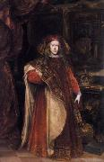 Charles II as Grandmaster of the Golden Fleece Miranda, Juan Carreno de