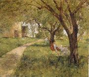 Afternoon in  the Hammock Palmer, Walter Launt