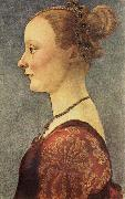 Portrait of a Young Lady Pollaiuolo, Piero