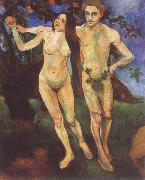 Adam and Eve Suzanne Valadon